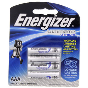 Energizer Ultimate Lithium AAA battery  L92BP4