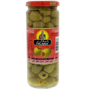 Figaro Stuffed Green Olives With Pimiento-Paste 270g