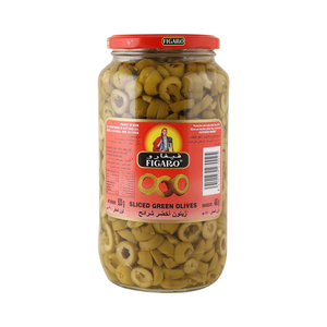 Figaro Sliced Green Olives 480g