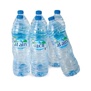 Al Ain Bottled Drinking Water 1.5Litre x 6