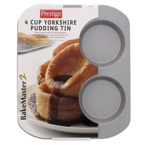 Prestige Yorkshire Pudding Tin 57126 4Cup