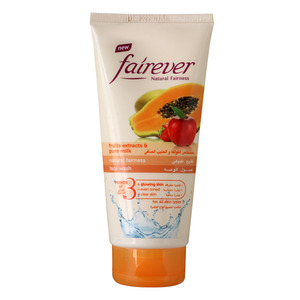 Cavin Kare Fairever Natural Fairness Face Wash Fruit Extracts & Pure Milk 50g