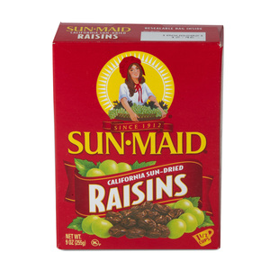 Sun Maid California Sun Dried Raisins 255g
