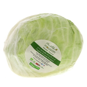 Organic Cabbage White 750g Approx. Weight