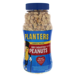 Planters Lightly Salted Dry Roasted Peanuts 453g