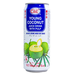 Ice Cool Young Coconut Juicy Drink With Pulp 500ml