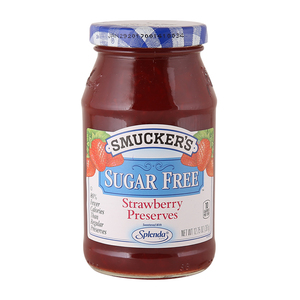 Smucker's Sugar Free Strawberry Preserve 361g
