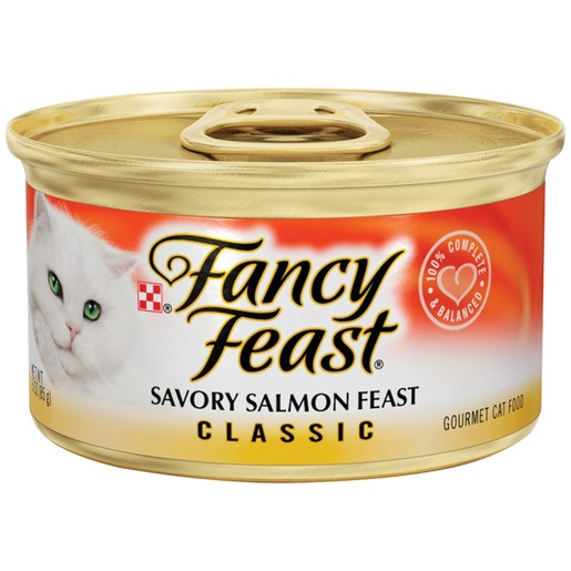 Purina Fancy Feast Classic Savory Salmon Wet Cat Food 85 Gm