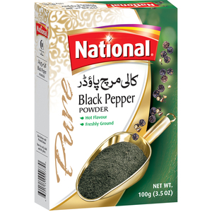 National Black Pepper Powder 100g