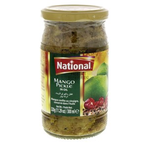 National Pickle Mango In Oil 320g