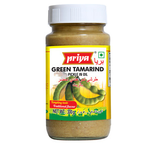 Priya Green Tamarind Pickle In Oil 300g