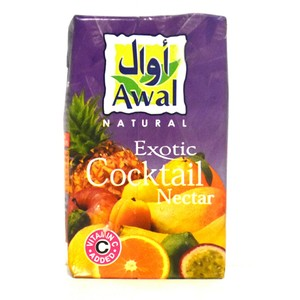 Awal Exotic Cocktail Nectar Juice 250ml
