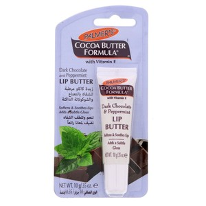 Palmer's Cocoa Butter Formula Dark Chocolate And Peppermint Lip Butter 10g