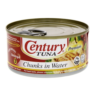 Century Tuna Chunks In Water 184g