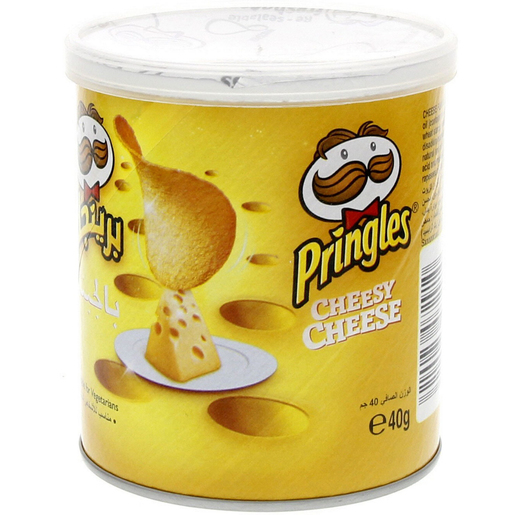 Pringles Cheesy Cheese Chips 40g