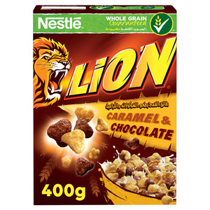 Nestle Lion Caramel Breakfast Cereal 400g