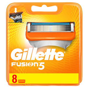 Gillette Fusion Manual Replacement Blades 8pcs
