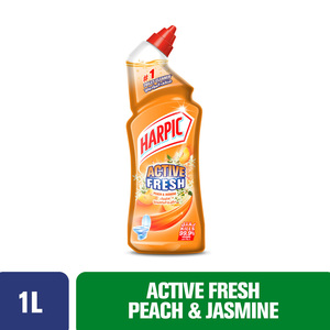 Harpic Toilet Cleaner Liquid Peach & Jasmine 1Litre