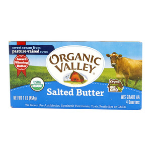 Organic Valley Salted Butter 454g
