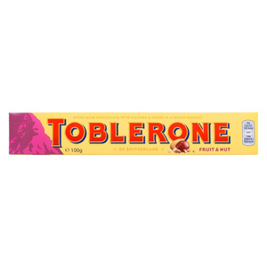 Toblerone Fruit &Nut Chocolate 100g