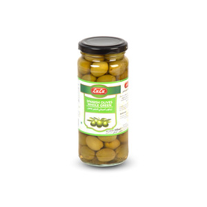 Lulu Spanish Olives Whole Green 200g