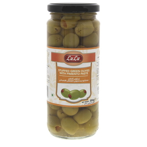 Lulu Stuffed Green Olives With Pimento Paste 200g