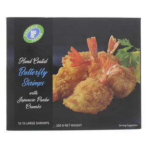 Freshly Foods Breaded Butterfly Shrimps 250g