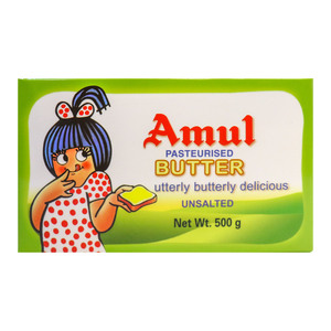 Amul Butter Unsalted 500gm