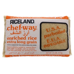 Chef-Way Enriched Rice Extra Long Grain 4.5kg