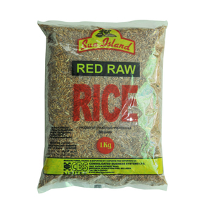 Sun Island Red Raw Rice 1kg