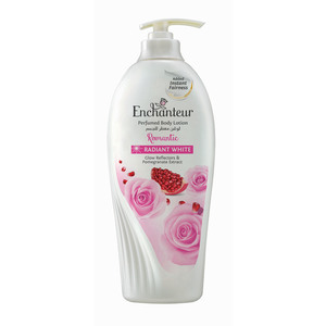 Enchanteur Radiant White Romantic Lotion 500ml