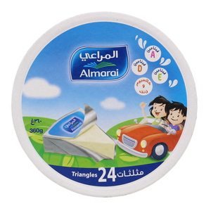 Almarai Triangles Cheese 24 Portion 360g