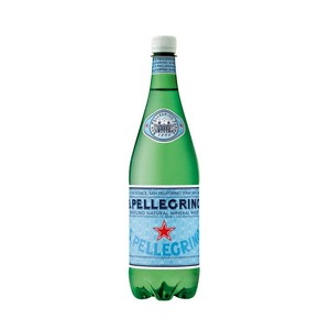 S.Pellegrino Sparkling Natural Mineral Water PET Bottle 1Litre