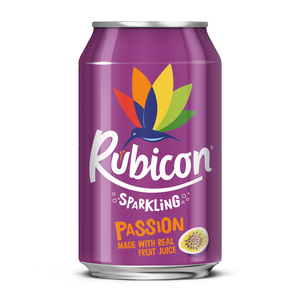 Rubicon Sparkling Passion Made with Real Fruit Juice 330ml