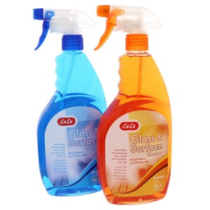 Lulu Glass And Surface Cleaner  Assorted 750 ml x 2