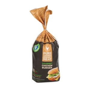 Freshly Foods Chicken Burger Polybag 1kg