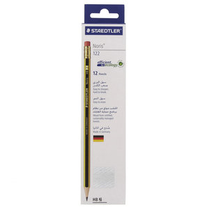 Staedtler Noris HB2 Pencil 122-HBA 12Piece