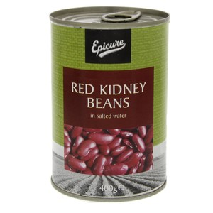 Epicure Red Kidney Beans in Salted Water 400g