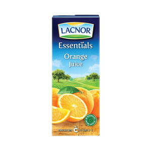 Lacnor Essentials Orange Juice  180ml