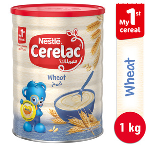 Nestle Cerelac Infant Cereals with Iron + Wheat From 6 Months 1kg