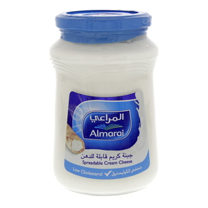 Almarai Spreadable Cream Cheese Lower Cholesterol 500g