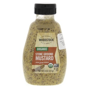 Wood Stock Organic Stone Ground Mustard 227g