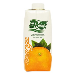 Al Rabie Orange Juice 330ml