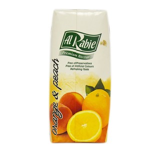 Al Rabie Orange & Peach Juice 330ml
