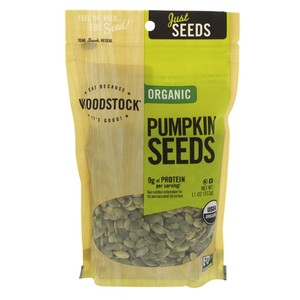 Woodstock Organic Pumpkin Seeds 312g