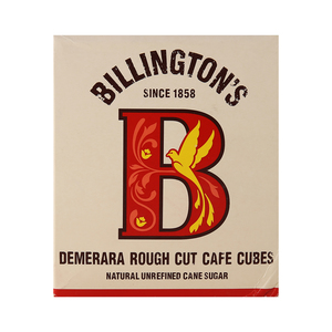 Billington's Demerara Rough Cut Cafe Cubes 750 Gm