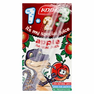 KDD Natural Apple Juice 125ml