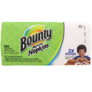 Bounty Quilted Napkins 100pcs