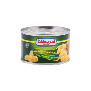 Americana Pineapple Chunks in Syrup 227g