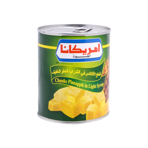 Americana Pineapple Chunks in Syrup 850g